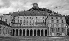 DSC_7504_ Château de La Roche-Guyon (yves62160) Tags: châteaux monochrome rocheguyon