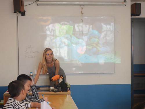 Nous avons commencé par regarder les reportages des CE2A de l'école Roger Salengro d'Ostricour