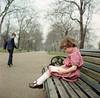 Hyde Park - London - 1982 (Cross Duck) Tags: mamiya mamiyaflex mamiyac220 kodak twinlensreflex tlr mediumformat 120film hydepark analogue canoscan8800f