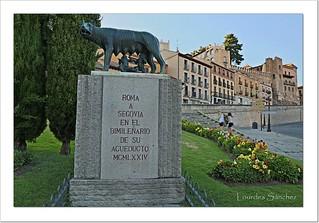Rómulo y Remo - Segovia