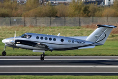 G-WNCH_02 (GH@BHD) Tags: gwnch beechcraft beech kingair kingair200 superkingair be200 kingairb200 syg synergyaviation winchair bhd egac belfastcityairport turboprop aircraft aviation bizjet bizprop corporate executive