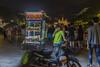 110117_5 (lgflickr1) Tags: vietnam night lowlight vendor food scooter moped saigon halloween woman d750 nikon 2470