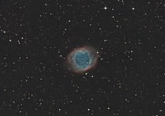 The Eye of God (Antoine Grelin) Tags: helix eye god nebula telescope orion sauron nebulosity pixinsight canon 7d m2 mk 2 ii mark astronomy astrophotography astrograph las vegas nevada desert astrometrydotnet:id=nova2336037 astrometrydotnet:status=solved
