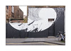 Street Art (David De La Mano), East London, England. (Joseph O'Malley64) Tags: daviddelamano streetartist streetart urbanart publicart freeart graffiti eastlondon london england uk britain british greatbritain art artist artistry artwork mural muralist wallmural wall walls render brickwork bricksmortar cement pointing victorianbuildings victorianstructures jacktheripperterritory doors doorways woodendoors panelleddoor entrances exits garage gates ramp droppedkerb blockpaving pavement cycleparking bikes bicycles windows drainpipe granitekerbing doubleyellowlines noparkingatanytime parkingrestrictions monochromatic blackwhite urban urbanlandscape aerosol cans spray paint fujix x100t accuracyprecision