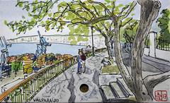 Valparaiso (chando*) Tags: aquarelle watercolor croquis sketch