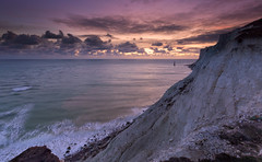 Beachy Head Clouds (JamboEastbourne) Tags: beachy head lighthouse sunset clouds november cliff cliffs chalk sky sea eastbourne east sussex england south downs national park
