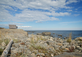 couch at the coast of north sweden