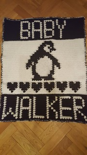 Penquin blanket for Baby Walker