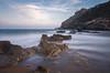 Isla del Fraile (Irene SC) Tags: isla mar playa arena piedra cielo stones sky longexposure murcia águilas mediterraneo sea water rock beach coast shore sand landscape