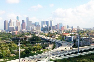Houston Sky line