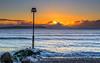 Cold Sea (nicklucas2) Tags: seascape isleofwight needles lighthouse sea seaside solent sunrise cloud avonbeach dorset