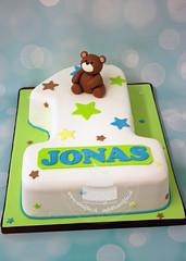 First Birthday Cake (toertlifee) Tags: törtlifee bear cake birthday geburtstag first junge boy eins sterne