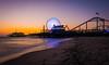 Waiting for sunset (Simon Huynh) Tags: santamonica pier sunset santamonicapier ride longexposure rollercoaster