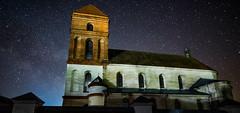 St. Nicholas' Church, Mir (free3yourmind) Tags: st nicholas church mir belarus night sky stars religion catholic milky way