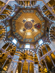 The octagon dome in the Aachen cathedral (patuffel) Tags: octagon aachen cathedral dome dom church kaiserdom kaiser unesco worldheritage world heritage explore