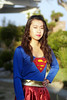 Super Girl (thang nguyen photography) Tags: portrait tree girl longhair fuji s5pro finepix royalgroup super naturallight tamron halloween