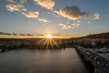 Sunset over Praha (jamessensor) Tags: prague praha prag sunset hdr bridges vltava river rivière
