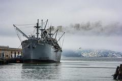 SS Jeremiah O'Brien (Miradortigre) Tags: sanfrancisco california usa ship boat steamboat barco puerto port harbor
