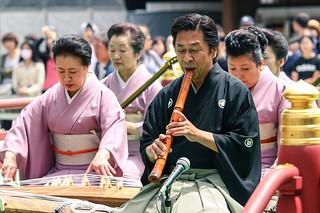 Shakuhachi flute