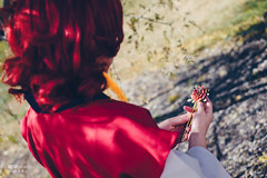 Yona (ヨナ) (btsephoto) Tags: cosplay costume play コスプレ anime banzai convention layton utah davis conference center fuji fujifilm xt1 yongnuo yn560 iii flash portrait yona ヨナ dawn 暁のヨナ fujinon xf 35mm f14 r lens