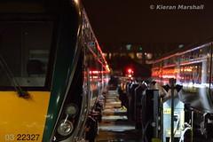 22027 at Heuston, 10/10/17 (hurricanemk1c) Tags: railways railway train trains irish rail irishrail iarnród éireann iarnródéireann dublin heuston 2017 22000 rotem icr rok 4pce 22027