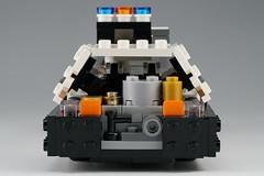 Police_car_04 (kaba_and_son) Tags: police car lego bladerunner ブレードランナー レゴ ポリスカー パトカー