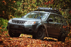 2012 Subaru Forester 2.5x (softroadingthewest.com) Tags: sh forester subaru subaruforester autumn leaves fallcolors lookoutpoint