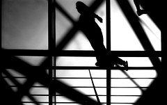 shadow walk (ThorstenKoch) Tags: street streetphotography strasse stadt schatten shadow silhouette summer sun sonne schwarzweiss licht lights lines linien light lisbon lissabon lisboa pov photography people photographer pattern portugal fuji fujifilm thorstenkoch monochrome outdoor urban