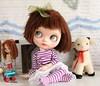 Lucy a Blythe/ Littlefee Hybrid (Desertmountainbear) Tags: blythe littlefee hybrid doll