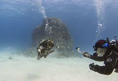 quadruple amputee man takes diving course 33 (KnyazevDA) Tags: disability disabled diver diving deptherapy undersea padi underwater owd redsea buddy handicapped aowd egypt sea wheelchair travel amputee paraplegia paraplegic