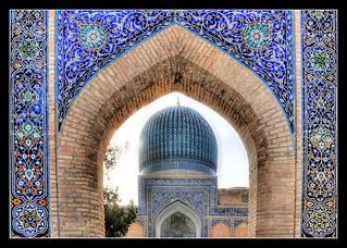 Samarqand UZ -  Gur-e-Amir Mausoleum 01