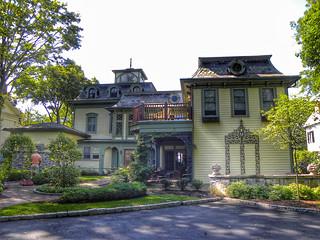 Thayer Mansion ~ Skaneateles NY ~ Historic