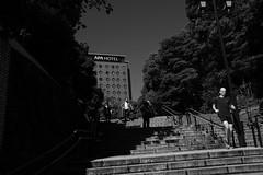 light&shadow@Ueno, Tokyo 3 (Amselchen) Tags: mono bnw blackandwhite lightandshadow shadow light fujifilm fujinon fujifilmxseries xt2 fujifilmxt2 xf23mmf2rwr tokyo japan