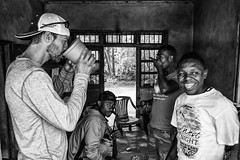 IMGP9030-Edit (Matt_Burt) Tags: africa kilimanjaro tanzania bw beer drink jungle local smile travel trek village adventure homebrew