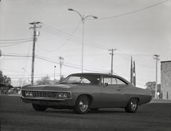 chevrolet impala on 4x5 film (Garrett Meyers) Tags: garrettmeyers garrett meyers 4x5 4x5film film filmphotographer chevrolet impala largeformat graflex car vintage reddingphotographer