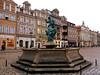 Fountain of Neptune in Poznan (Renata_Lipińska) Tags: poznań polska poland miasto city ville diestadt architektura architecture budynki building pomnik monument fontanna fountain neptun