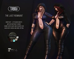 The Last Remnant outfit @ Remnant. dark days (tabou&VoltHair Manager) Tags: sexy tabou glamsoglamour mesh sl secondlife blogger outfit sex boobs ass biggest 100 volthair girls woman women wife