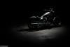 darkness (Lichtbildidealisten.) Tags: motorrad victory gunner moped newgreen bike chopper garage
