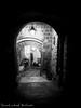 Vicolo - Latera (VT) (frillicca) Tags: 2017 agosto alley august bn bw biancoenero blackandwhite lamp lampione lateravt light luce monochrome monocromo night notte panasoniclumixlx100 tuscia vicolo