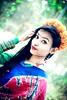 Cute Girl Fashion... (lingkon44) Tags: sare girl bangladeshi indian bollywood eyes fashion flower style lady young teen