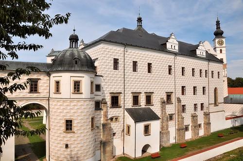 Pardubice, Schloss