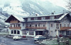 Rauris hotel under snow (Mary Gillham Archive Project) Tags: 1965 5226 april1965 austria buildings rauris snowice vehicle