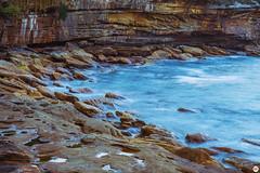 By the water | Balgowlah Heights, Sydney (arnimangoes) Tags: sydney sydneyharbourbridge coastal coastalwalk beach rocks cliffs longexposure waterscapes landscpe landscapes waterscape landscape sony sonyalpha a7ii a7markii nsw australia australianbeaches nswbeaches blue water ocean