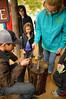 A few more taps of the hammer (radargeek) Tags: homesteadheritage homesteadfair 2016 waco texas tx craft hammering