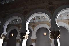 Sinagoga (anitareal) Tags: monumento sinagoga arquitectura arcos relieve luz sombras foto españa silencio toledo europa nikon anamariareal