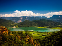 Oh you beautiful South Tyrol... (davYd&s4rah) Tags: kalterersee lagodicaldaro southtyrol südtirol lake mountains forest hiking nature natur sky sun olympus em10markii m1240mm f28 olympusm1240mmf28 kaltern summer sommer überetsch weinreben vino wine summerwine 7dwf