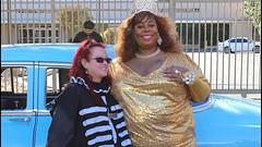 Queen Imani Phoenix at the 2017 Doo Dah Parade (Robb Wilson) Tags: the2017pasadenadoodahparade queenimaniphoenix pasadenacalifornia doodahparade doodahqueens