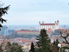 Bratislava - Denkmal und Soldatenfriedhof am Slavin-Huegel