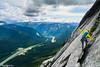 Oman walks the cool rock bridge (RichSo) Tags: yakcheck yakpeak coquihallahighway coquihalla alpineclimbing