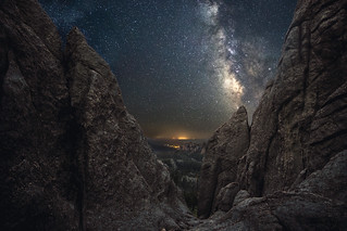 Milky Way over Black Elk Peak